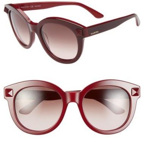 b9eb57b6c2ca0 Valentino Accessories | Rockstud 54mm Cat Eye Sunglasses | Poshmark
